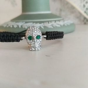 JUICY COUTURE SKULL💀💀💀💀💀 BRACELET NWT!